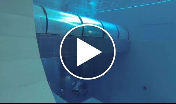 La piscina piu 39 profonda al mondo e 39 italiana misura 40 for Piscina y 40 montegrotto terme